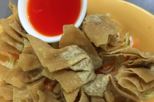 10 Fried Wontons - delivery menu