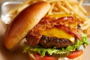Crispy Bacon Burger - delivery menu