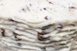 Italian Cream Cake Slice - delivery menu