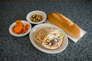 Kufta Kabab Sandwich - delivery menu