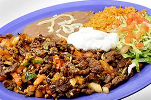 Bistec a La Mexicana  Dinner  - delivery menu