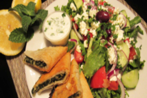 Spanakopita Tray (24ct.) - delivery menu