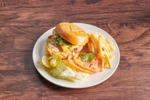 Cilantro Grilles Chicken Burger - delivery menu