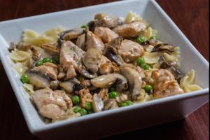 Farfalle Salmon Pasta - delivery menu