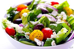 Hearty Greek Salad - delivery menu