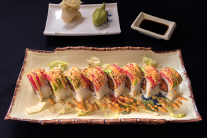 12. Eight Pieces Rockie Roll Chef's Special - delivery menu