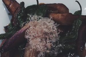 Eggplant & Shishito - delivery menu