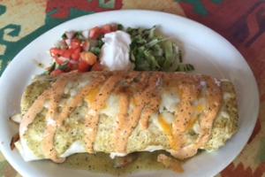 Ensenada Shrimp Burrito - delivery menu