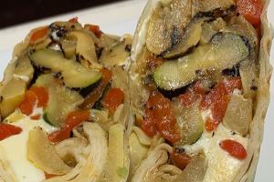 Grilled Veggie Wrap - delivery menu