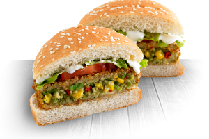 6. Vegetarian Burger - delivery menu