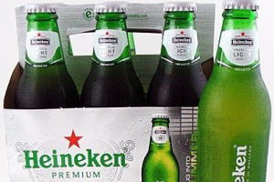 Heineken Light (6 Pack) (Must be 21 to purchase.) - delivery menu