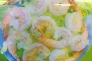 68. Shrimp in Garlic Sauce - delivery menu