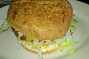 Chicken Salad Burger - delivery menu