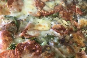 "18"" Round D'Anna's Special Neapolitan Pie - delivery menu"