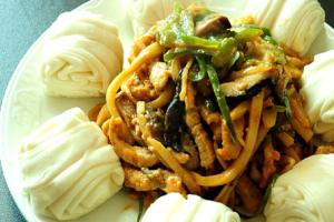 6 Piece Kochu Chapchae - delivery menu