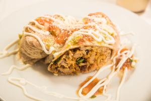 Chipotle Chicken Burrito - delivery menu
