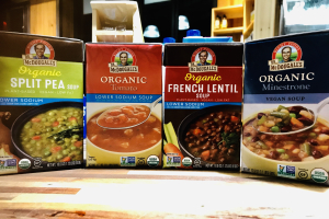 Dr. McDougall's organic soups - delivery menu