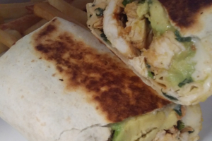 Avocado Burrito - delivery menu