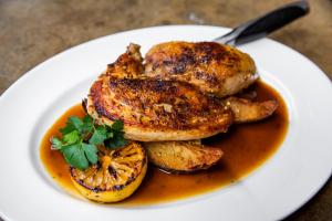 Roasted Gerber Farms Half Chicken - delivery menu