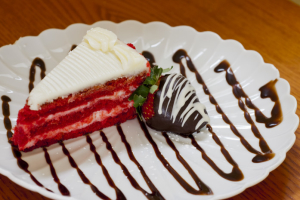 Red Velvet Cake Slice - delivery menu