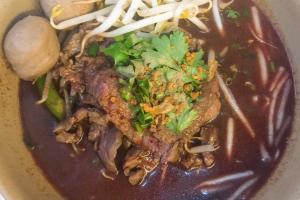 Nam Tok Beef Noodle Soup - delivery menu