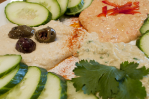 Hummus Trio Dinner - delivery menu