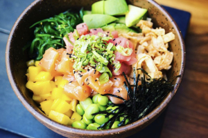 Hawaiian Salmon Bowl - delivery menu