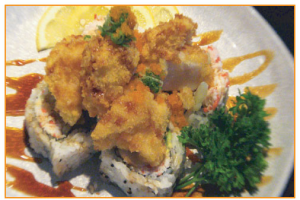 Scallop Crunch Roll - delivery menu