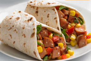 BBQ Chicken Wrap - delivery menu