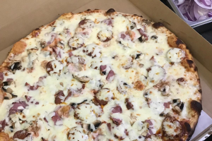 Beef Pepperoni Pizza - delivery menu