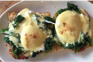 Irish Ham Benedict Brunch - delivery menu