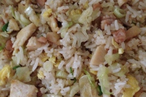 4. Salty Fish Fried Rice with Chicken - delivery menu