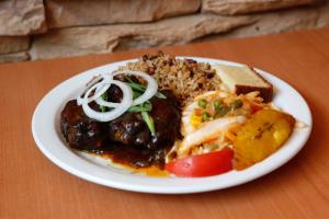 Brown Stew Chicken Dinner - delivery menu