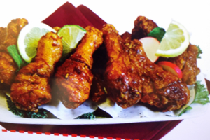A. Mixed Wings, Arms and Drumsticks Fried Chicken - delivery menu