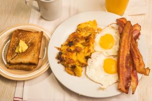 2 Egg Platter - delivery menu