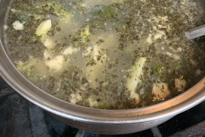 Soup of the Day—Broccoli with Pasta - delivery menu