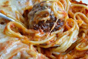 Meatball Parmigiana - delivery menu