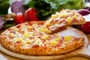 DMV Hawaiian Pizza - delivery menu