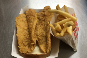 2-Piece Catfish Dinner - delivery menu