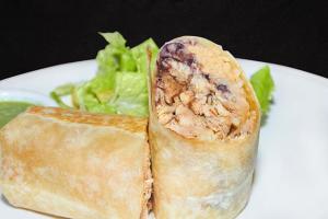 Burrito steak - delivery menu