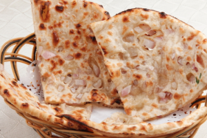Onion Naan - delivery menu