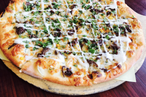 "Korean ""BBQ Bulgogi"" Pizza - delivery menu"