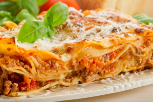Meat Lasagna - delivery menu