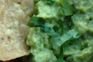 Mayan Style Guacamole and Chips - delivery menu