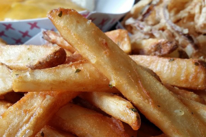 Garlic Parmesan Signature Fries - delivery menu