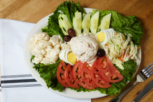 Smoked Whitefish Salad Platter - delivery menu