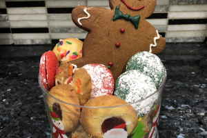 1lb Assorted Cookie Container  - delivery menu