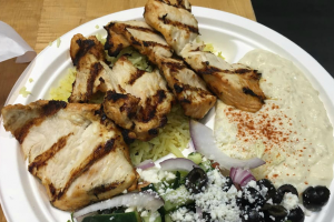 Chicken Shish Kebob Plate - delivery menu