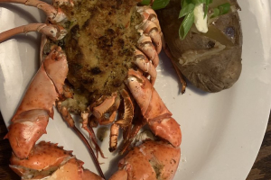 Crab Stuffed Lobster - delivery menu