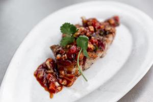Ahi Tuna Tartar - delivery menu